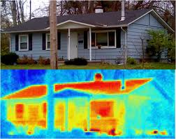 Infrared images find energy loss areas
