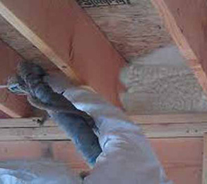 Air sealing rim joists
