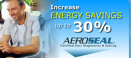 10) Aeroseal Pittsburgh 30 Percent more efficient